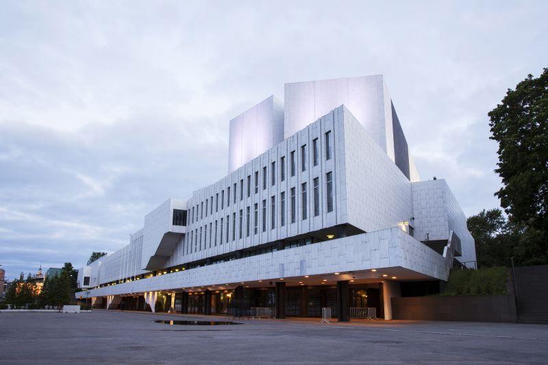 Hala Finlandia v Helsinkách