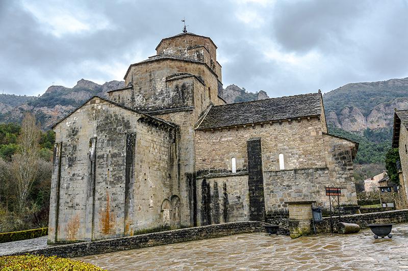 Huesca kostol Španielsko