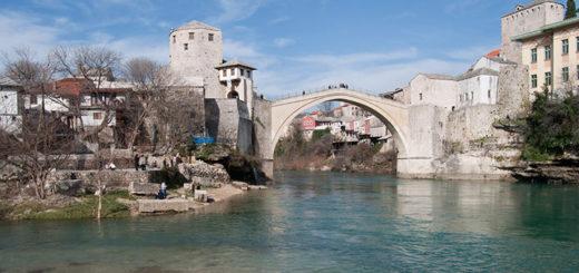 Mostar Bosna a Hercegovina