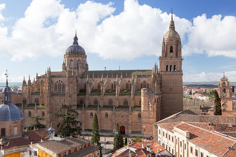 Katedrála Salamanca Španielsko