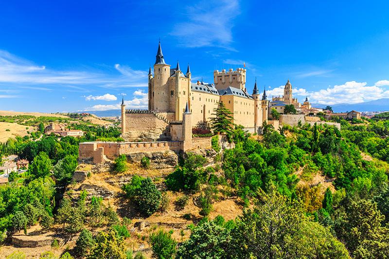 Segovia Kastília Španielsko