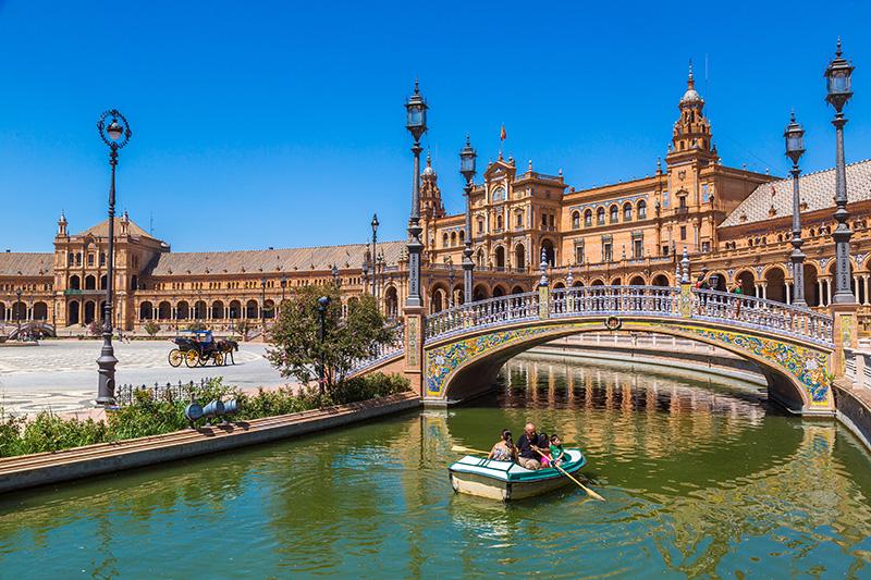 Sevilla Španielske námestie