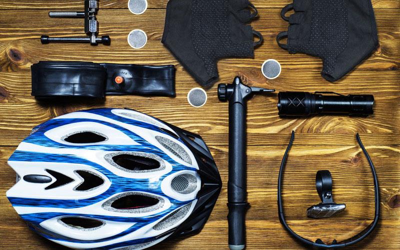 Výbava na cyklovýlet
