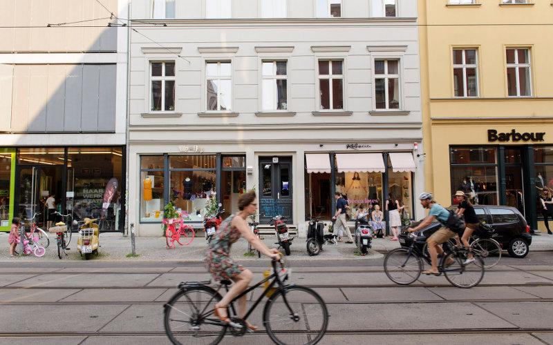 Bicyklovanie v Berlíne