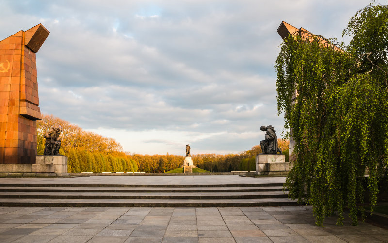 Treptower park v Berlíne