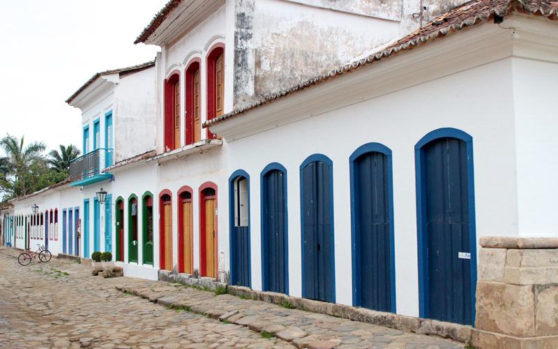 Brazílske mestečko Paraty