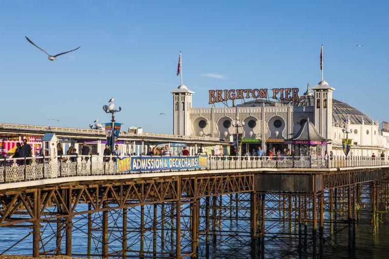 Brighton Pier mólo