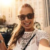 Vloger Selfie Prezentačná foto