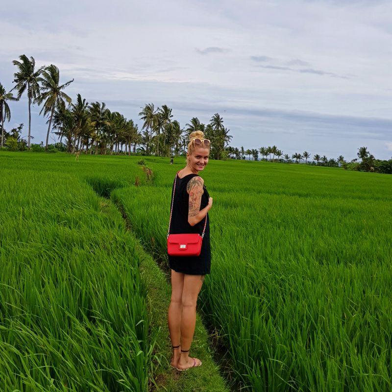 Zelená príroda na ostrove Bali