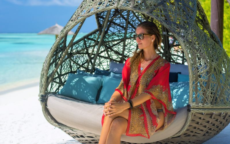 Luxusná dovolenka na pláži
