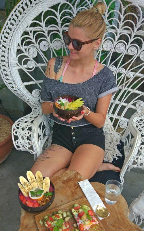 Ochutnávka jedla na Bali