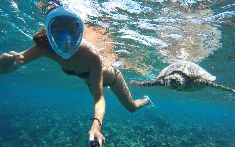 Šnorchlovanie Maldivy