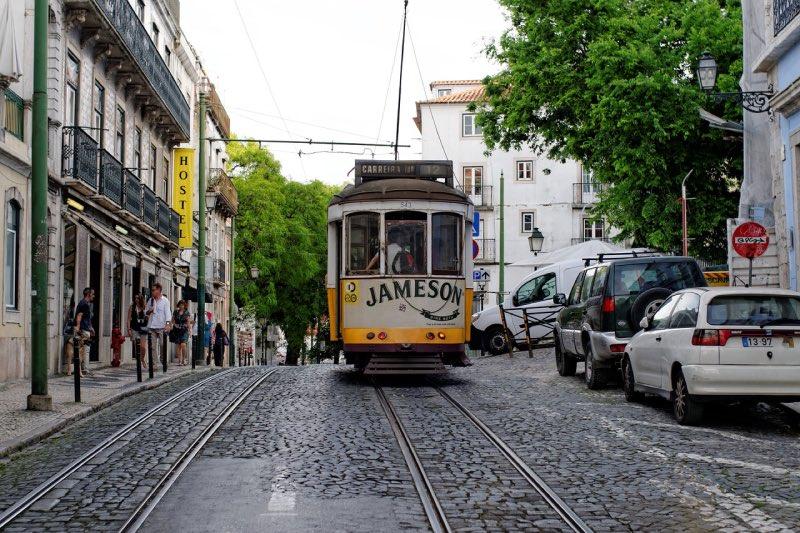 Električka Lisabon