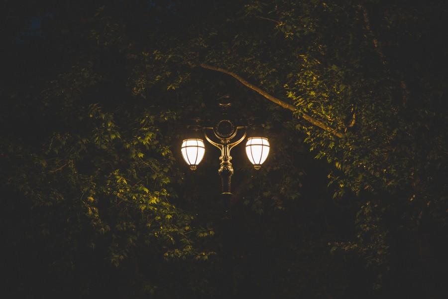 Park v noci