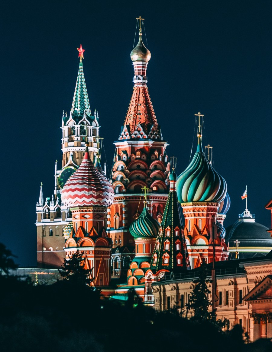 Rozprávkové Červené námestie v Moskve