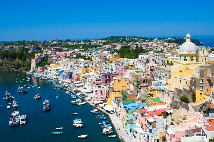 Taliansky ostrov Procida
