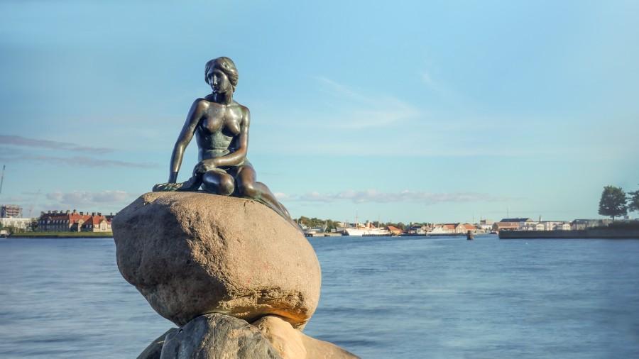 Malá morská panna v Kodani