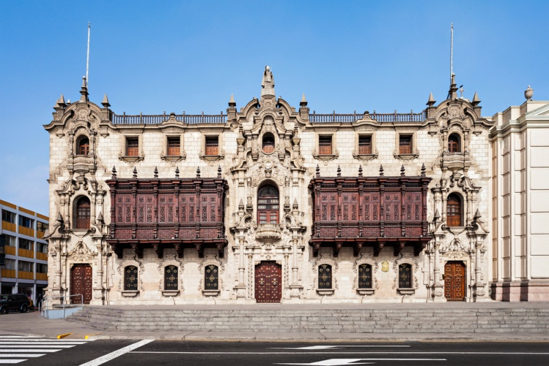 Arcibiskupský palác v Lime