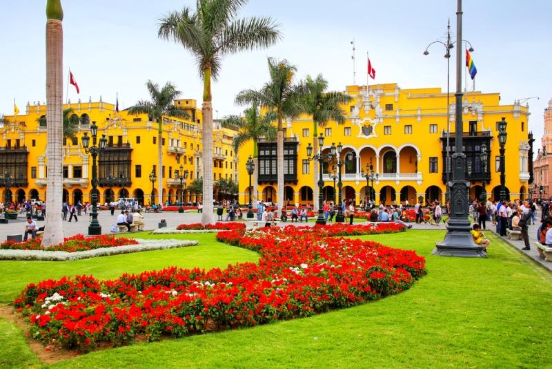 Hlavné mesto Peru Lima