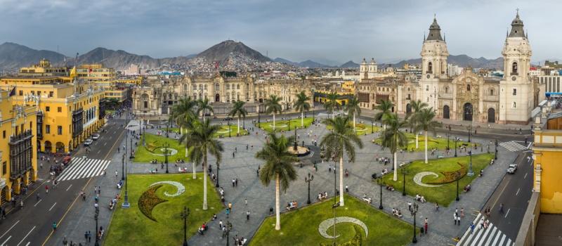 Námestie v Lime