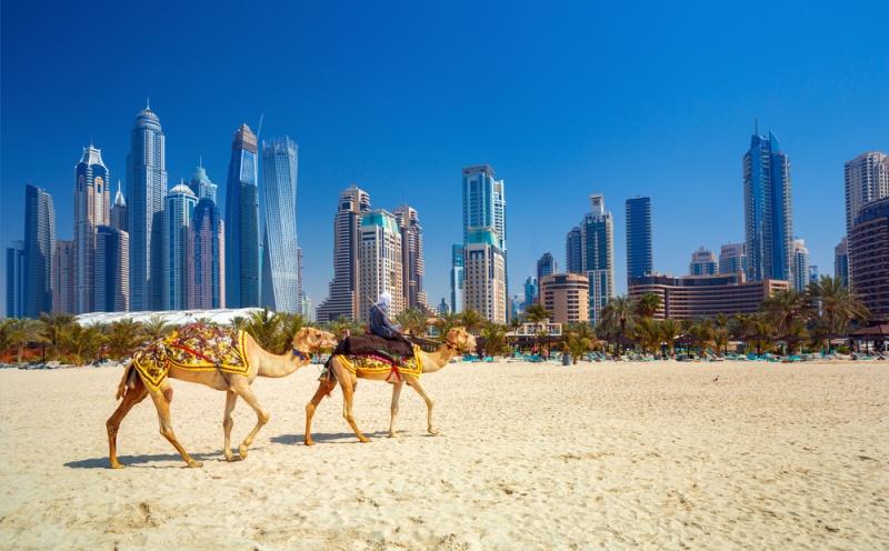 Pobrežie v Dubaji