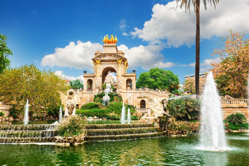 Barcelonský park Ciutadella