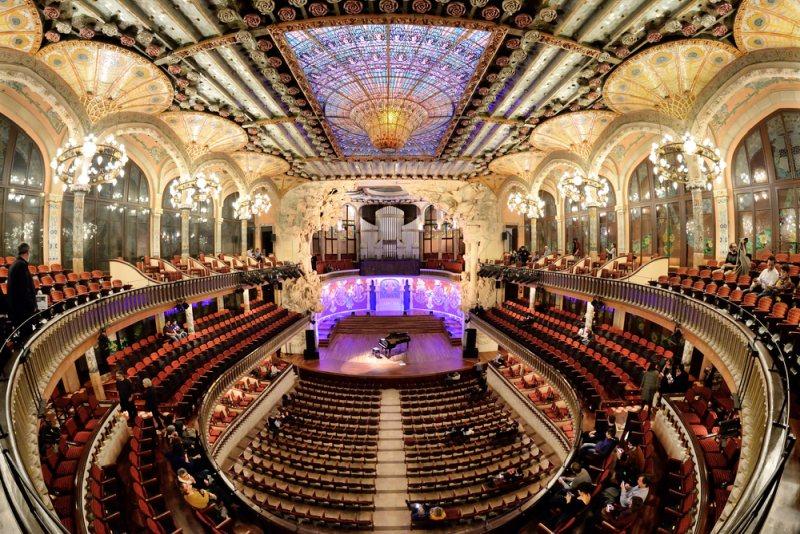 Palác katalánskej hudby v Barcelone