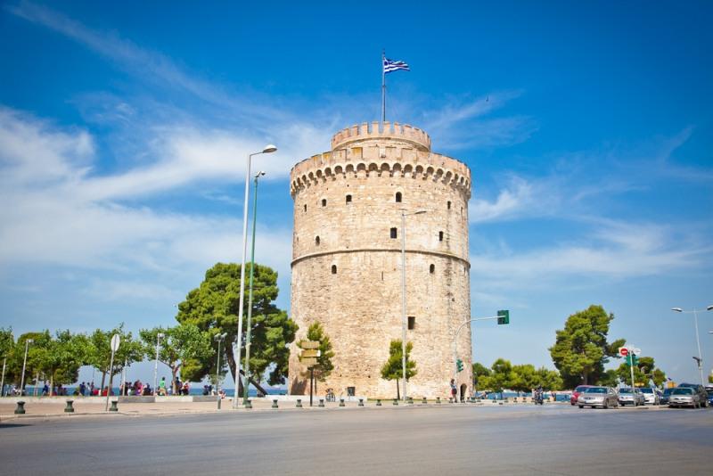 Biela veža Grécko