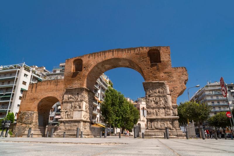 Galeriov oblúk v Solúne